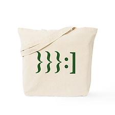 Klingon Smiley Tote Bag