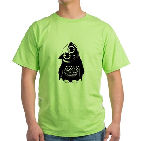 Curious Owl Green T-Shirt