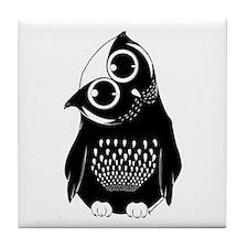 Curious Owl Tile Coaster