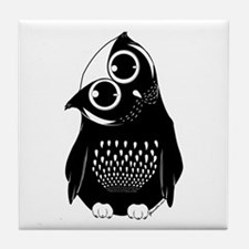 Curious Owl Tile Coaster