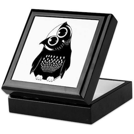 Curious Owl Keepsake Box