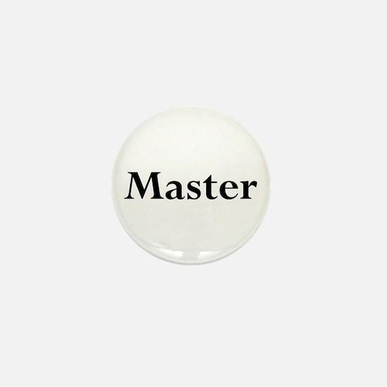 Master Mini Button