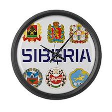 Funny Siberian Large Wall Clock