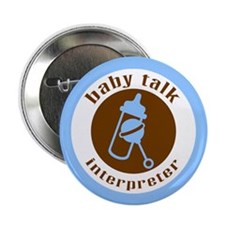 """""""Baby Talk"""" 2.25"""" Button (10 pack)"""