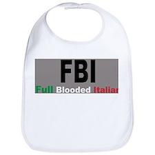 FBI Full Blooded Italian Bib