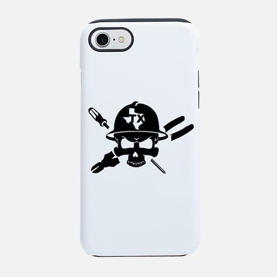 TEXAS ELECTRICIAN iPhone 7 Tough Case