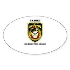 3RD RECRUITING BRIGADE WITH TEXT Decal