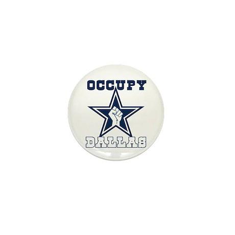 Occupy Dallas Mini Button