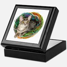 Kitten Yarn Keepsake Box