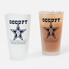 Occupy Dallas Drinking Glass