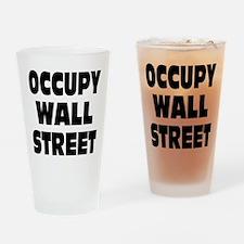 Occupy Wall Street: Drinking Glass