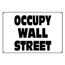 Occupy Wall Street: Banner