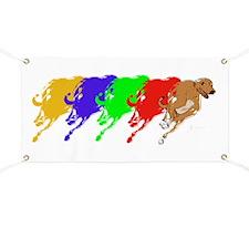 Running Greyhound Banner