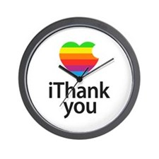 iThank you Wall Clock