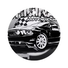 Cool Shelby gt500 Ornament (Round)