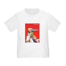 Wild West Cowgirl on White Horse T