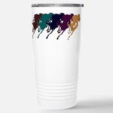 Running Greyhound Travel Mug