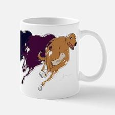 Running Greyhound Mug