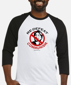 Re-defeat communism -  Baseball Jersey