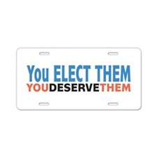 Politician Elections Aluminum License Plate