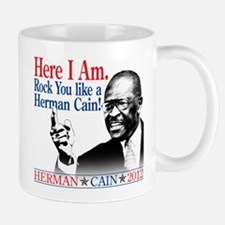 Here I Am...Herman Cain Small Small Mug