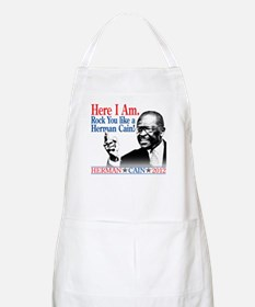 Here I Am...Herman Cain Apron