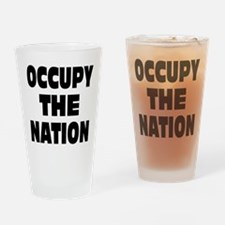 Occupy The Nation Drinking Glass