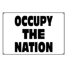 Occupy The Nation Banner