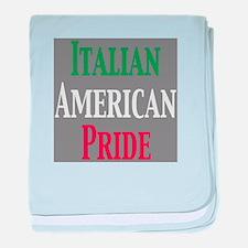 Italian American Pride baby blanket