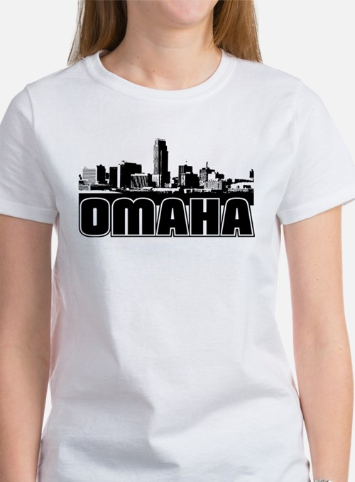 Omaha Skyline Women's T-Shirt