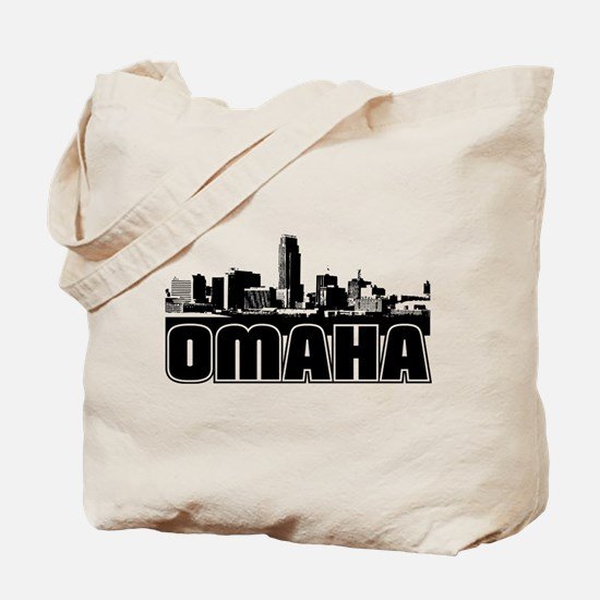 Omaha Skyline Tote Bag