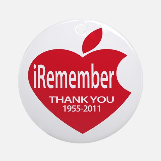 iThank you Ornament (Round)
