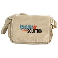 Revolutiion is the Solution Messenger Bag