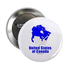United States of Canada - Button