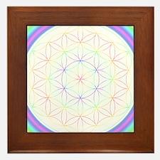 Flower of Life Sacred Geometry Energizer Tile