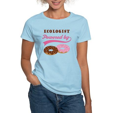 Ecologist Gift Doughnuts Women's Light T-Shirt
