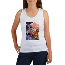 Wild West Mountain Country Ride Women's Tank Top