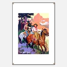 Wild West Mountain Country Ride Banner