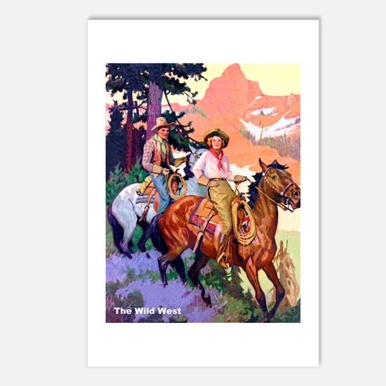 Wild West Mountain Country Ride Postcards (Package