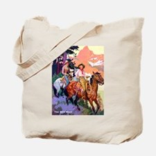 Wild West Mountain Country Ride Tote Bag