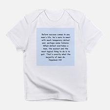 Napolean Hill quotes Infant T-Shirt