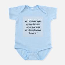 Napolean Hill quotes Infant Bodysuit