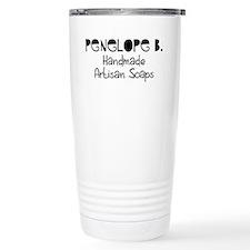 Penelope B. Ceramic Travel Mug
