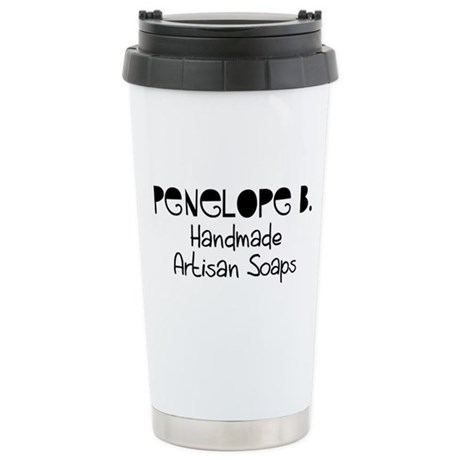 Penelope B. Stainless Steel Travel Mug