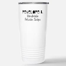 Penelope B. Stainless Steel Travel Mug