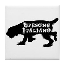 Spinone Tile Coaster