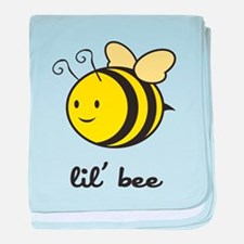 Lil Bee baby blanket