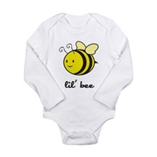 Lil Bee Long Sleeve Infant Bodysuit
