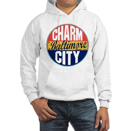 Baltimore Vintage Label Hooded Sweatshirt