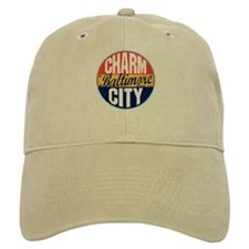 Baltimore Vintage Label Baseball Cap